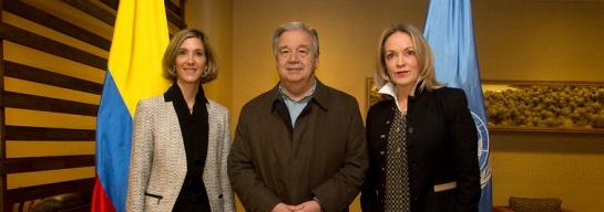 Reunión Santos Guterres: ONU ratificó respaldo a la búsqueda de paz en Colombia