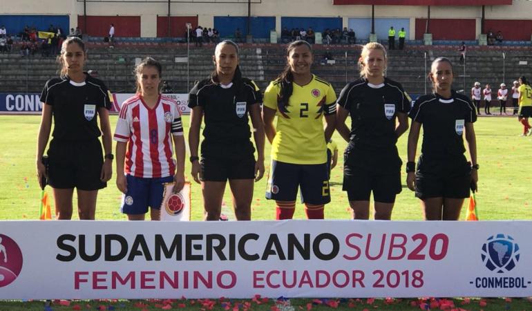 Selección Colombia: Selección Colombia debutó con derrota en el Sudamericano Sub-20