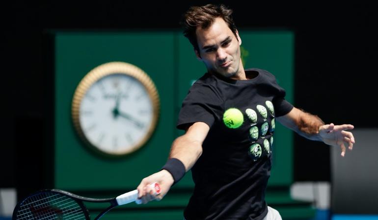 Australian Open Federer: No creo que un jugador de 36 años sea el favorito a ganar un torneo: Federer