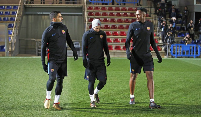 Yerry Mina Barcelona: Por todo lo alto: Yerry Mina, jugador más alto de la plantilla del Barcelona