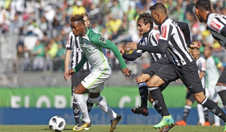 Nacional 2-0 Atlético Mineiro: Atlético Nacional venció al Atlético Mineiro en el debut de Jorge Almirón