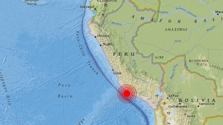 Terremoto de 7.6 grados sacude la costa de Perú