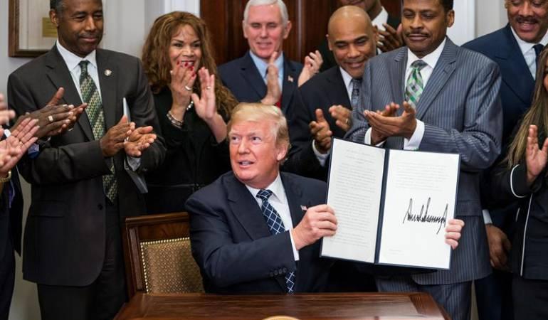 Año presidencia Trump: Trump: Un año desastroso para la diplomacia de EE.UU.