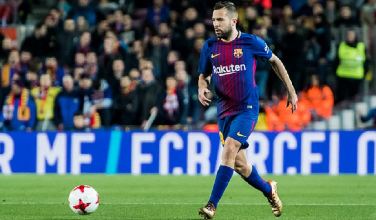 Jordi Alba Real Madrid Barcelona: Si el Madrid nos llegara a sacar 19 puntos, en Barcelona nos matarían: Jordi Alba