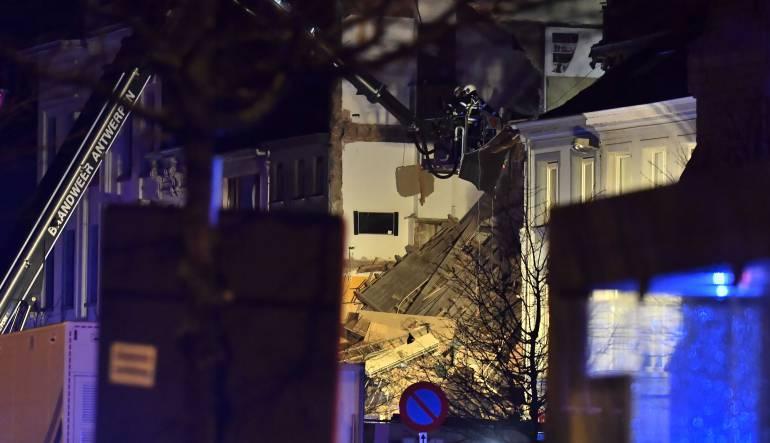 Explosión en Bélgica: Dos edificios colapsaron en Bélgica, al parecer por explosión de gas