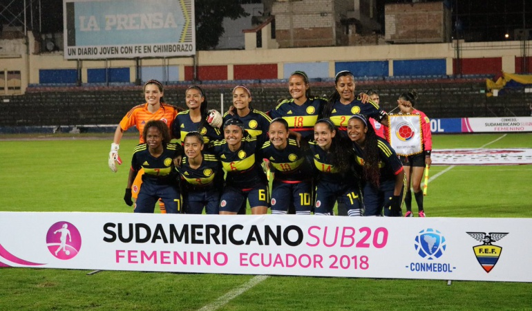 Colombia 4-1 Ecuador Sudamericano Sub20: Colombia goleó a Ecuador en la segunda fecha del sudamericano Sub20 femenino