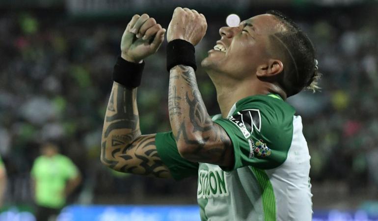 Oficial: Dayro Moreno renueva con Atlético Nacional