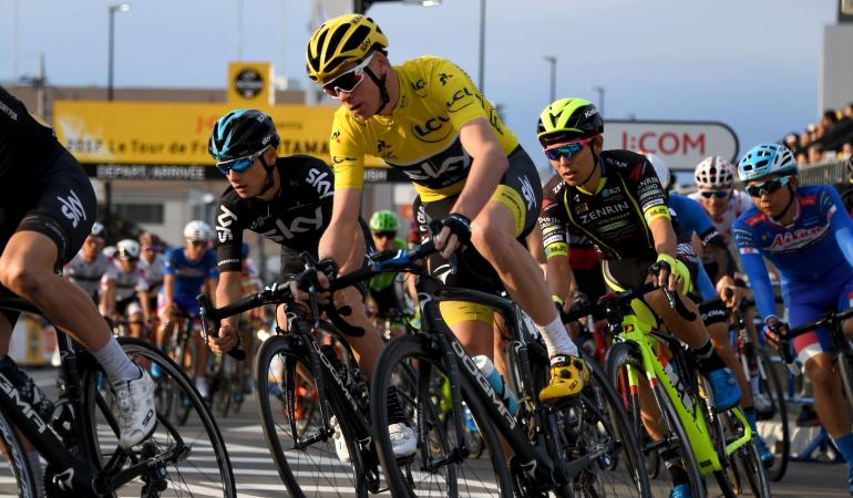 Froome Ciclismo Dopaje: Froome se defenderá del positivo en el dopaje con una falla en sus riñones, según L'Équipe
