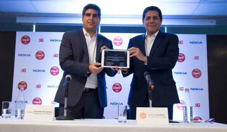 Red 5g en Colombia: Nokia, de la mano de Claro, inicia pruebas de red 5G en Colombia