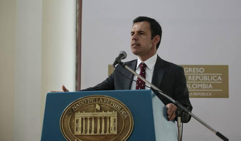 Ministro del Interior: Consejo de Estado falló a favor de ministro del Interior Guillermo Rivera