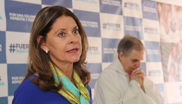 Marta Lucía Ramírez, candidata a la presidencia en Colombia