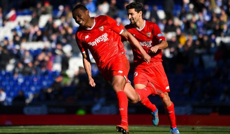 Gol Muriel Sevilla 3-0 Espanyol: Luis Fernando Muriel anotó en la goleada del Sevilla en campo del Espanyol