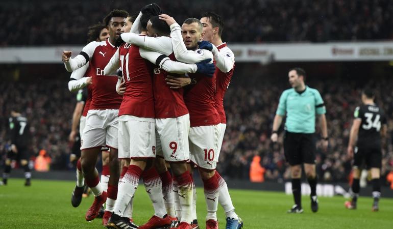 Arsenal 4-1 Burnley Alexis Sánchez: Sin Alexis, el Arsenal golea 4-1 al Crystal Palace