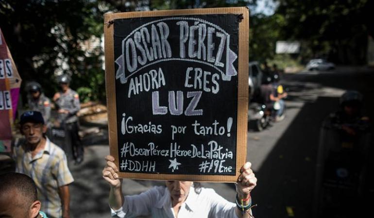 Asesinato de Óscar Pérez