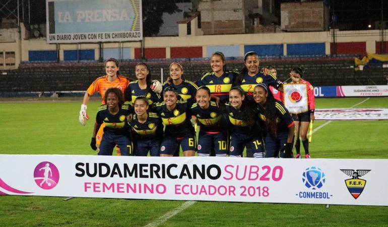 Colombia abre final ante el más duro en Suramericano femenino