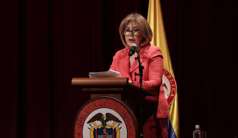 Martha Lucía Olano presidenta del Consejo Superior de la Judicatura
