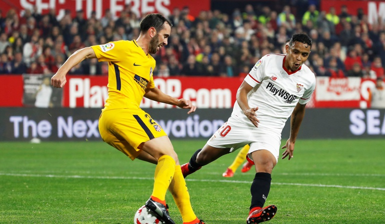 sevilla copa del rey atletico de madrid: Con Muriel, Sevilla avanza a la semifinal de la Copa del Rey