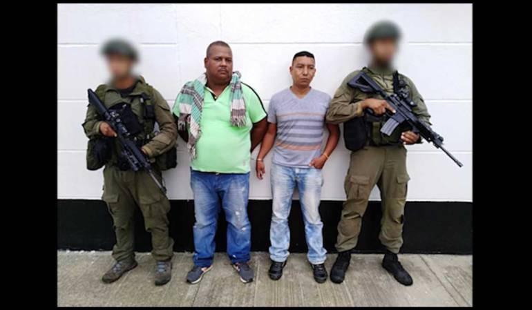 Capturados dos miembros del 'Clan del Golfo' en los Llanos orientales