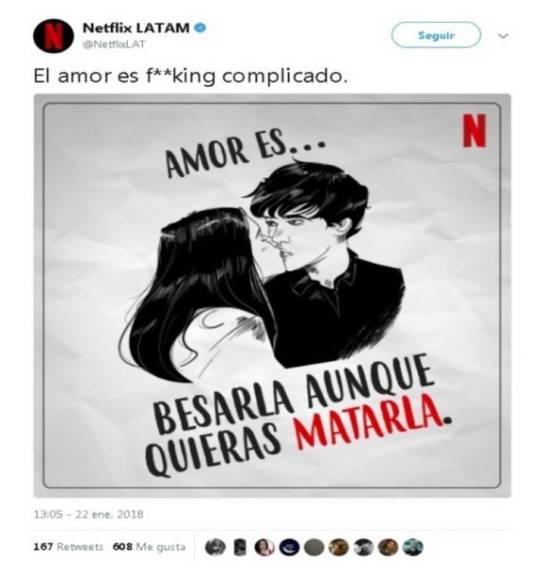 Netflix publicó un polémico tuit que tuvo que borrar — No causó gracia