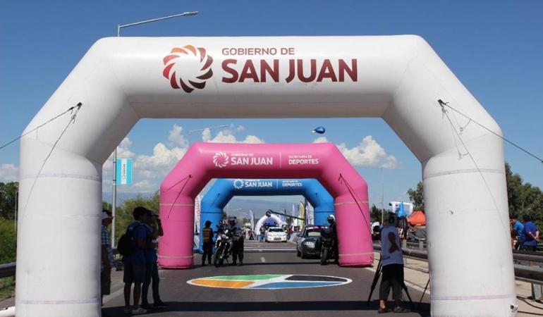 Omar Mendoza, el mejor colombiano de La Vuelta a San Juan