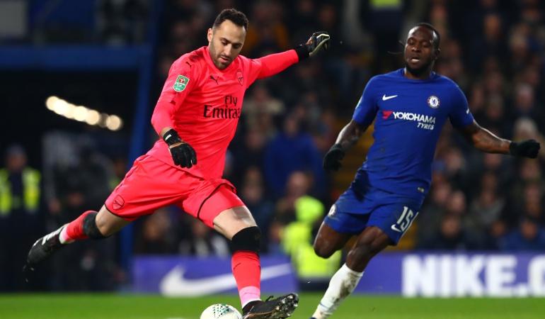 arsenal copa de la Liga David Opsina: Arsenal con Ospina avanza a la final de la Copa tras vencer al Chelsea