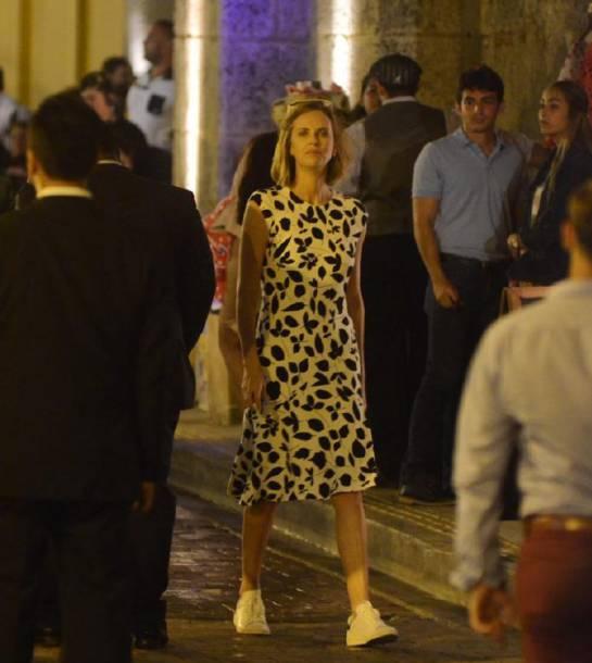 Cartagena se rinde ante la belleza de Charlize Theron