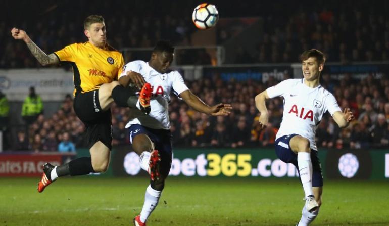 Tottenham FA Cup: Tottenham empató 1-1 sin Dávinson Sánchez