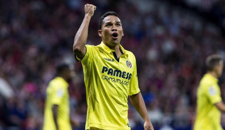 Villarreal venció a Real Sociedad con gol de Carlos Bacca