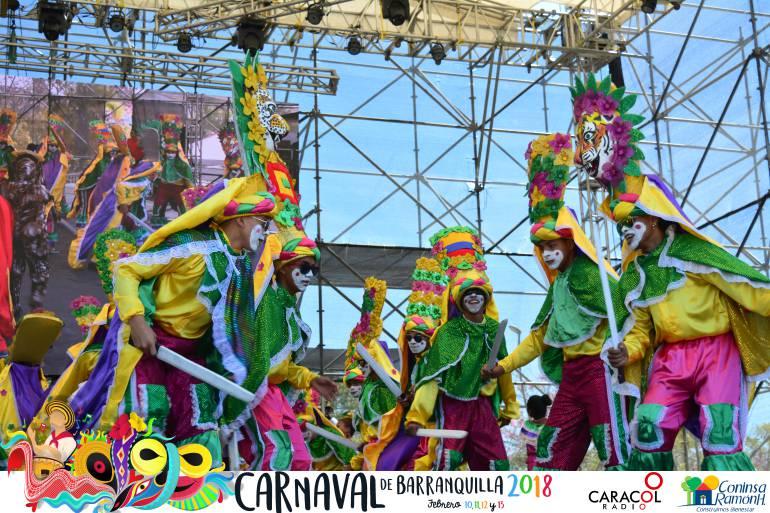 La Fiesta de Danzas y Cumbias se tomó el Carnaval