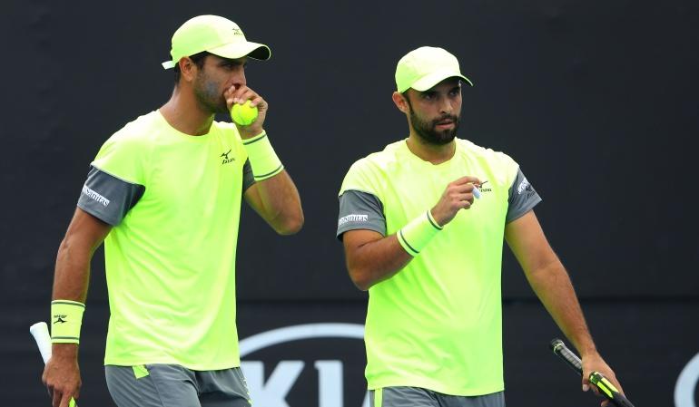 Juan Sebastián Cabal y Robert Farah: Cabal y Farah ascienden al segundo lugar en la clasificación ATP