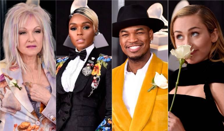 Grammys Time's Up: Rosas blancas y la voz de Kesha por las mujeres en el Grammy