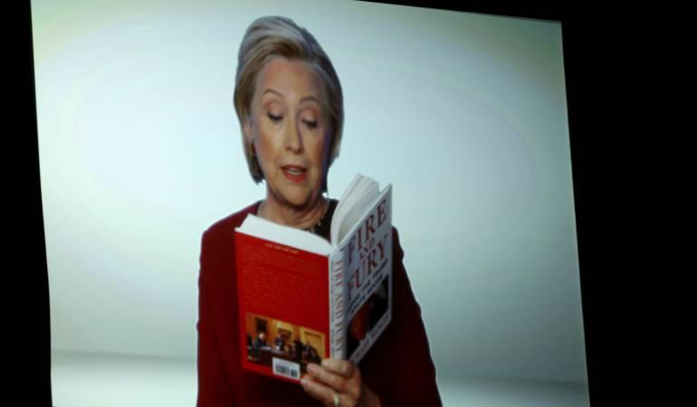 Hillary Clinton le da el toque político a los Grammy
