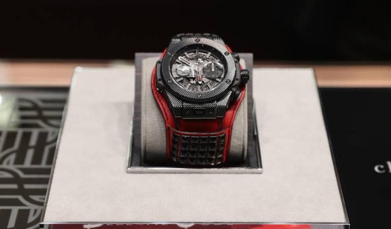 Con gran exhibición se exponen los relojes que serán la moda en este 2018