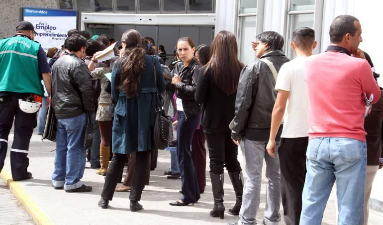 Desempleo llegó en 2017 a su nivel más alto en 4 años