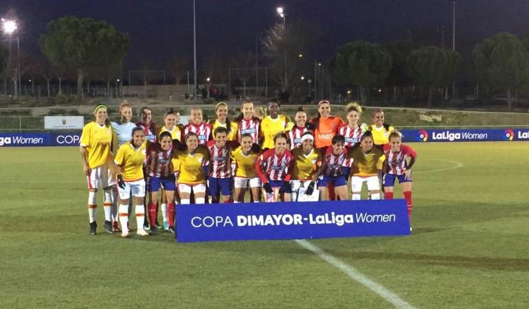 Atlético de Madrid 1-1 Santa Fe femenino: En destacado partido, las 'Leonas' igualan con Atlético de Madrid en España