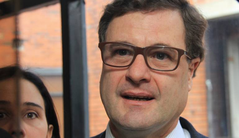 Luis Fernando Andrade, ex presidente de la Agencia Nacional de Infraestructura