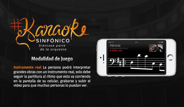Karaoke Sinfónico: Filarmónica lanza app para promover la música sinfónica