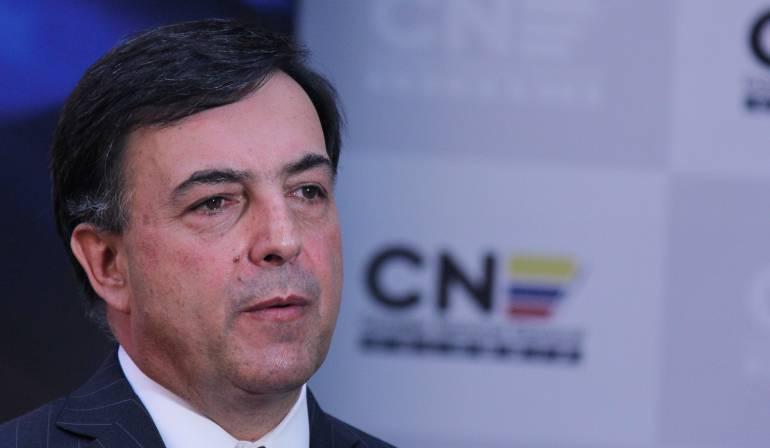 Juan Carlos Galindo, registrador Nacional