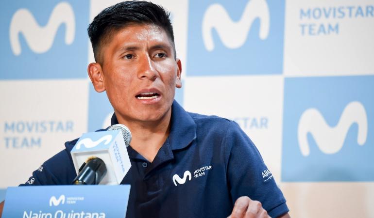 Nairo Quintana Colombia Oro y Paz: Creo que haré una buena carrera en la Oro y Paz: Nairo Quintana