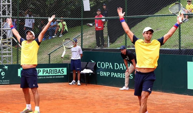 Cabal Farah Copa Davis: Cabal y Farah por el punto que sentencie la serie en la Copa Davis