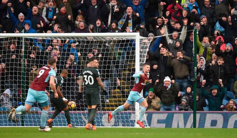 Burnley 1-1 Manchester City: El modesto Burnley rescató un punto ante el Manchester City