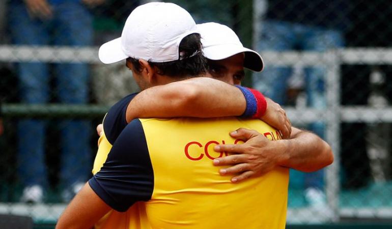 Colombia Barbados Copa Davis: Farah y Cabal ganan en dobles y Colombia vence a Barbados en la Davis