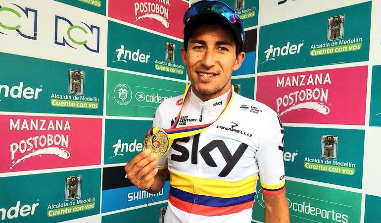 Sergio Luis Henao se corona como Bicampeón Nacional de Ruta