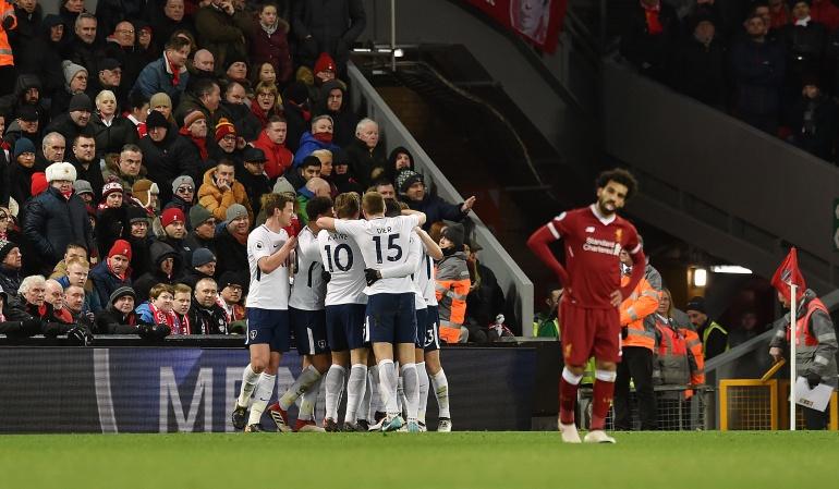 Tottenham Liverpool Davinson Sánchez: Tottenham, con Davinson titular, igualó frente al Liverpool en partidazo