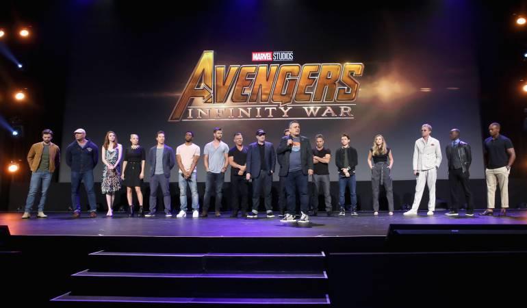 "Actores de la Película ""Avengers Infinity War"""