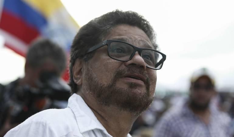 """Farc y su mal recibimiento en la política: """"El Uribismo está promoviendo los ataques en contra nuestra"""": Iván Márquez"""