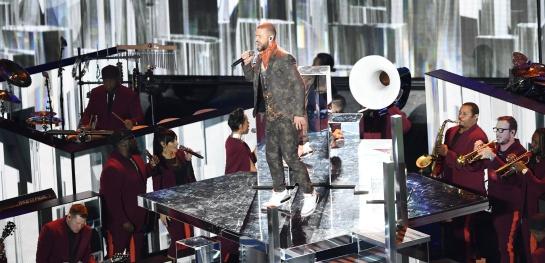 Justin Timberlake, ¡un show a la altura del Super Bowl!