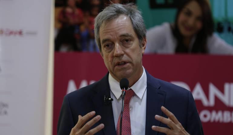 Mauricio Perfetti, presidente del Dane
