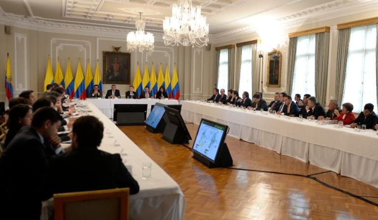 Pablo Catatumbo en la Casa de Nariño: Santos pide a partidos unirse ante la violencia contra líderes sociales