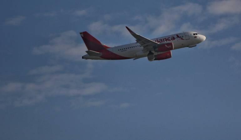 Vuelo de Avianca  AV9211